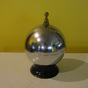 A Perfect Score Bowling Ball Decanter and Glasses
