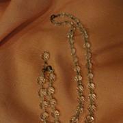 Aurora Borealis Necklace and Bracelet - Free shipping
