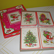 SOLD Parchment Elegance Christmas Cards in Box - B125