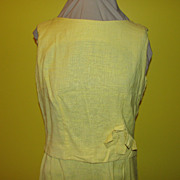 Sunny Yellow Fashion Frock Skirt and Top Set