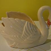 Brush Swan #631 Planter - b122