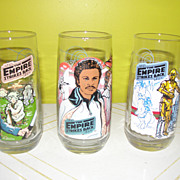 The Empire Strikes Back Burger King Glasses - b125