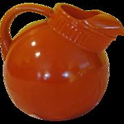 Orange Ya Glad Ball Tilt Jug/Pitcher - b139