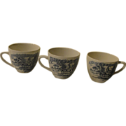 "Enoch Wedgwood ""Countryside'' Cups - b144"