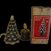 SOLD Yule Glo Ceramic Christmas Tree in Box - g