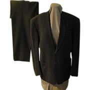 Thierry Mugler Gray Suit