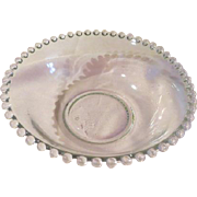 Imperial Glass Candlewick 8 1/4'' Serving Bowl - b63