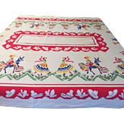 South of the Border Tablecloth - b32