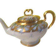 SOLD Limoges Guerin Pouyat-Elite tea Pot - b182