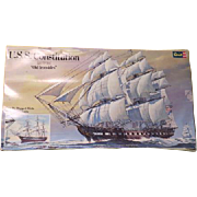 ''Old Ironsides'' U.S.S. Constitution 1974 Revell Model Ship