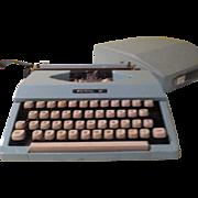 Ipad of the 60's Royal Jet Powder Blue Portable Typewriter