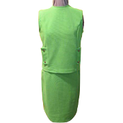 Juicy Lime Green Skirt Set