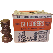 Lionel Gutenburg Printing Press No 3100