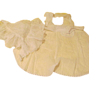 White Dotted and French maid Aprons - b188