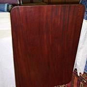 Mahogany Rectangular Tilt-Top Table