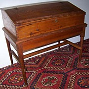 SALE American Early Desk on Frame Ca. 1720