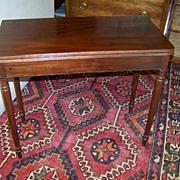 SALE Federal Sheraton Mahogany Game Table Ca. 1830
