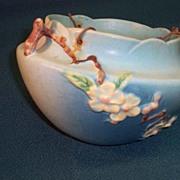 SALE Roseville Apple-blossom  Hanging Basket  309-8