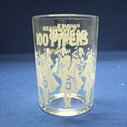 SOLD 100 Pipers Seagram's Scotch Shot Glass