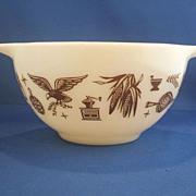 Pyrex Early American 441 Cinderella Mixing Bowl