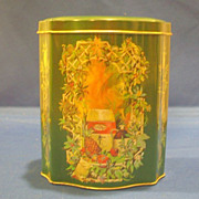 Avon Christmas Tin Made in England