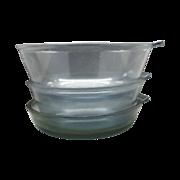 REDUCED Pyrex Flameware Blue Skillet Saucepan Set