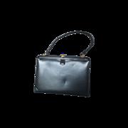 Coblentz Original Navy Blue Leather Handbag