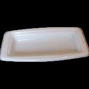 Pyrex Butter Dish Base Milk Glass