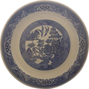 """Royal China Blue Willow Chop Plate Round Platter 12"""""""