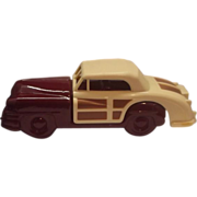 Avon 1948 Chrysler Town and Country Car Bottle Burgundy