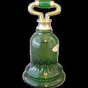 Avon Emerald Green Bell Sweet Honesty Bottle