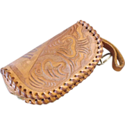 Houston Tooled Leather Coin Purse