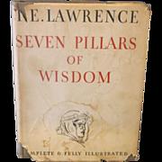 Seven Pillars of Wisdom T.E. Lawrence 1st US Edition 1935