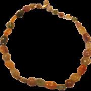 Faux Gemstone Necklace Single Strand Hong Kong