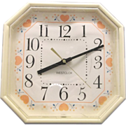 Westclox by Talley Hearts Galore Kitchen Wall Clock