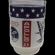 SOLD Apollo 11 Commemorative Glass Tumbler Libbey