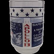 SOLD Apollo 13 Commemorative Drinking Glass Tumbler Libbey