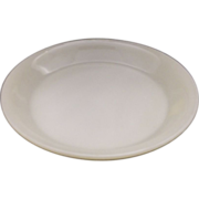 Fire-King Ivory Pie Plate 9 1/4""