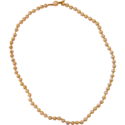 Marvella Faux Pearl Necklace 21""