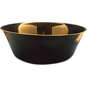 "Arcoroc Black Round 9"" Serving Bowl"