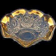 Horseshoe Medallion Small Nut Candy Bowl EAPG New Martinsville #2