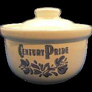 Pfaltzgraff Yorktowne Century Pride Butter Tub & Lid