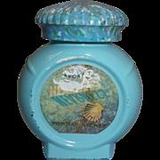 Avon Nearness Powder Sachet Blue Bottle
