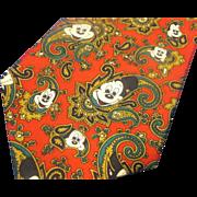 Mickey Mouse Red Paisley Tie Balancine Tie Works Disney