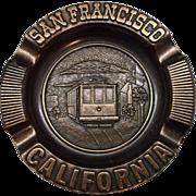 San Francisco Souvenir Copper Ashtray Century Canada