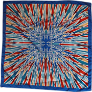 """Mr. Emperor Kaleidoscope Polyester Scarf 25"""" Square"""