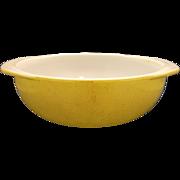 Pyrex Casserole Yellow Speckled Round 024 2 Qt