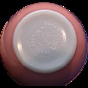 Pink Pyrex 401 1 1/2 Pt Mixing Bowl 1950s
