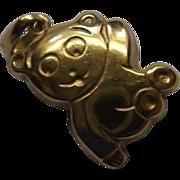 Teddy Bear Charm Pendant 333 Gold 8 or 9K