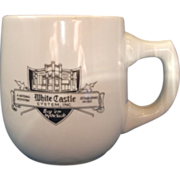 White Castle Restaurant Ware Mug